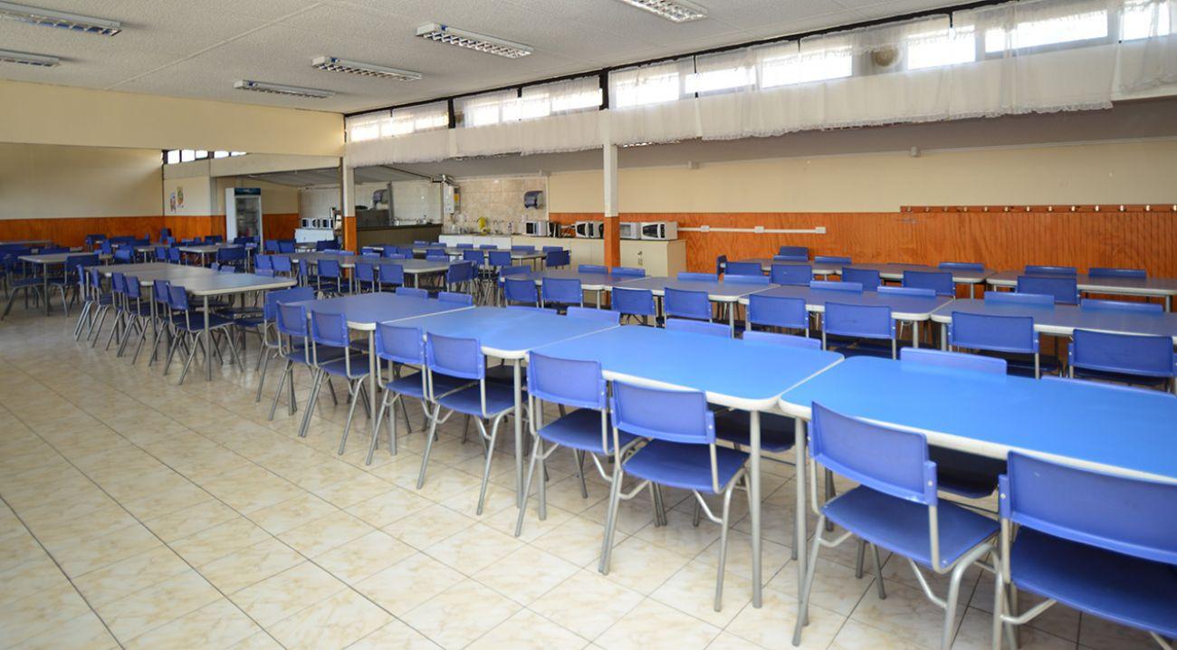 Casinos y Comedores | Colegio Champagnat - Maristas Chile